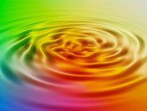 Wirlpool colorato Fotografia Stock