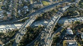 Wirować nad autostrada wiadukt zbiory