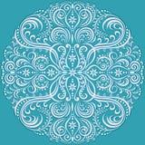 Wirować kwiecistego wzór, ornament Fotografia Royalty Free