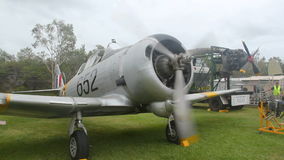 Wirraway At Startup 2 stock video footage