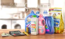 Wirtschaft auf Reinigungsmittel vektor abbildung