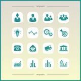 Wirtschaft und Finanzierung stock abbildung