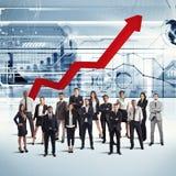 Wirtschaftler der erfolgreichen Firma Lizenzfreie Stockfotos