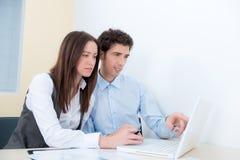 Wirtschaftler planen das Projekt Lizenzfreies Stockfoto