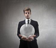 Wirtschaftliche Blase Lizenzfreie Stockfotografie