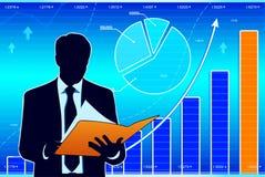 Wirtschaftliche Entwicklung Stockfotografie