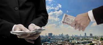 Wirtschaftliches Kapitalspritzekonzept Lizenzfreie Stockfotografie