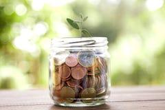Wirtschaftlichkeit und Finanzierung Stockfotos