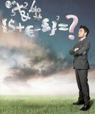 Wirtschaftlichkeitproblem Lizenzfreies Stockfoto