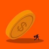 Wirtschafts-Krise lizenzfreie abbildung