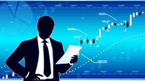 Wirtschaftsanalytiker Lizenzfreie Stockfotografie
