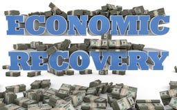 Wirtschaftsaufschwung - Vereinigte Staaten Stockfoto