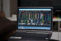 Wirtschaftslage der Börse von Thailand Lizenzfreie Stockfotografie