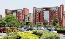 Wirtschaftsschule Freundschaftlichkeit-Universität, Noida Stockbild