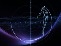 Wirtualna geometria Fotografia Stock