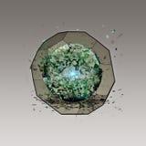 Wirtualna ikona ogólnospołeczna sieć ilustracji