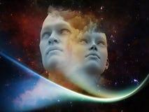 Wirtualne istoty ludzkie Obraz Royalty Free