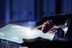 Wirtualne technologie Zdjęcie Stock