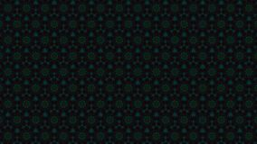 Wirtualni kalejdoskop sekwenci wzory, nieskończoność lub bezszwowa pętla, zdjęcie wideo