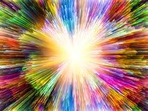 Wirtualni kolory Zdjęcie Stock