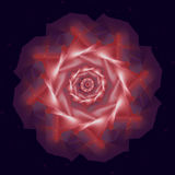 Wirtualny abstrakcjonistyczny pompon Fotografia Stock
