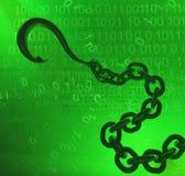 Wirtualny haczyka łańcuch Zdjęcia Royalty Free