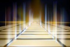 Wirtualny projekcyjny ekran również zwrócić corel ilustracji wektora ilustracji