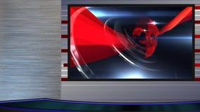 wirtualny ustalony newsroom 2left zbiory wideo
