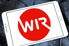 WIRU banka logo Obrazy Royalty Free