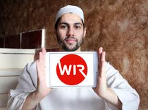 WIRU banka logo Obraz Stock