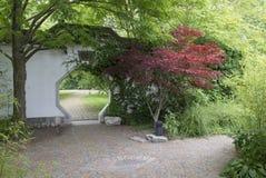 Żwiru chińczyka ogród Obrazy Stock