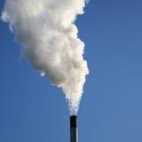 wirujące komina się dym Obraz Stock