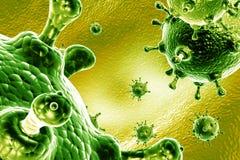 wirus grypy ilustracja wektor