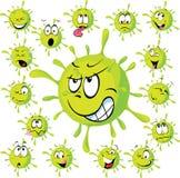 Wirus - wektorowa ilustracja Zdjęcie Royalty Free