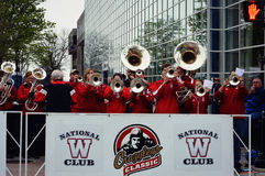 Wisconsin Badger Band Royalty Free Stock Photography
