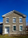 Wisconsin Cobblestone House Stock Images
