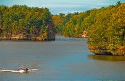 Wisconsin-enge Täler Lizenzfreies Stockbild