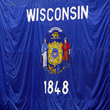 Wisconsin Flag Stock Photos