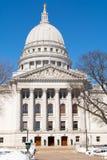 Wisconsin huvudstadbyggnad royaltyfri fotografi
