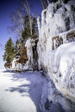 Wisconsin Ice Caves royalty free stock photo