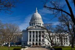 Wisconsin Kapitolium royaltyfri foto