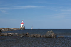 Wisconsin Point Lighthouse Stock Photography