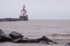 Wisconsin Point Lighthouse Royalty Free Stock Photo