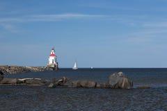 Wisconsin punktu latarnia morska fotografia stock