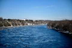 Wisconsin River royaltyfria foton
