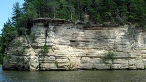 Wisconsin sandsten Arkivfoton