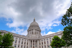 Wisconsin State Capitol Building Royalty Free Stock Image