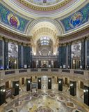 Wisconsin State Capitol Building rotunda Royalty Free Stock Image
