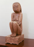 ''The Wisdom of the Earth'' by Romanian sculptor Constantin Brancusi Royalty Free Stock Photo