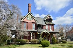 Free Wisdom House Victorian Manor Jackson, Tennessee Stock Photos - 112721203